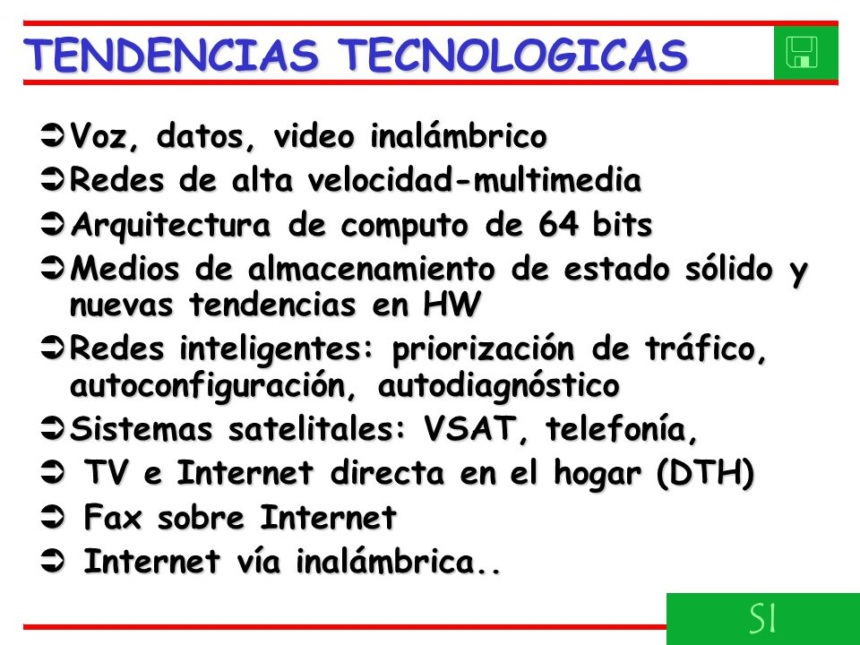 TENDENCIAS TECNOLOGICAS 