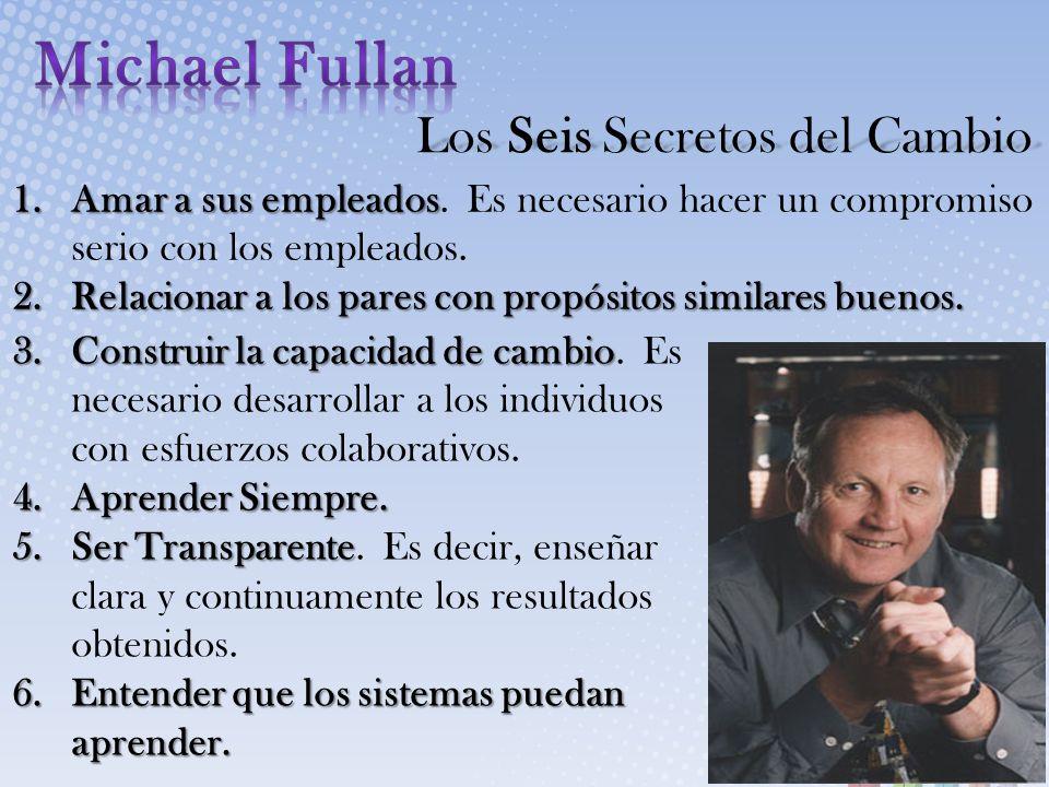 Michael Fullan Los Seis Secretos del Cambio