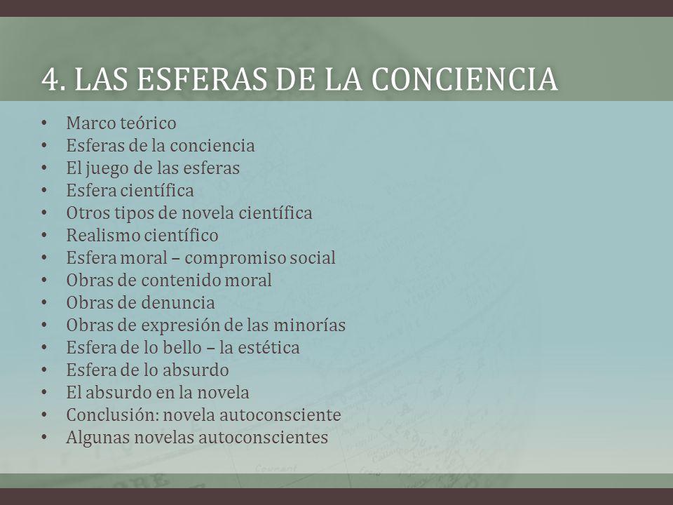 4. Las esferas de la conciencia