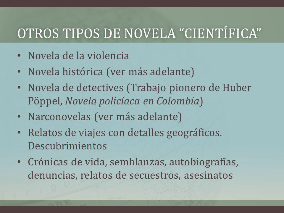 Otros tipos de novela científica