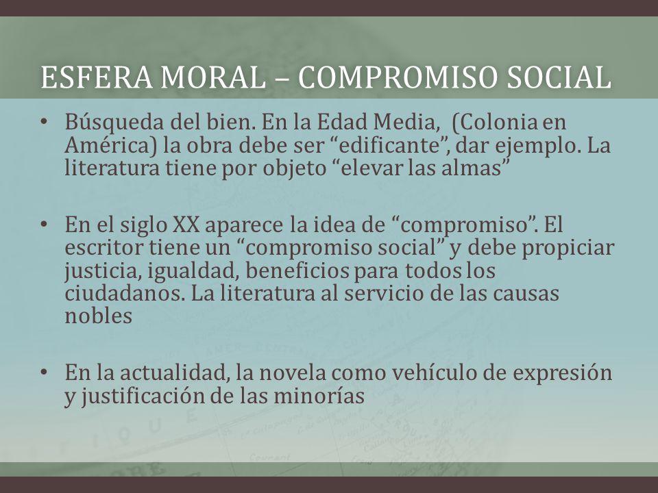ESFERA MORAL – compromiso social
