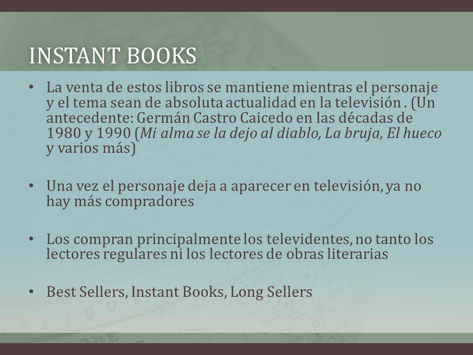 INSTANT BOOKS