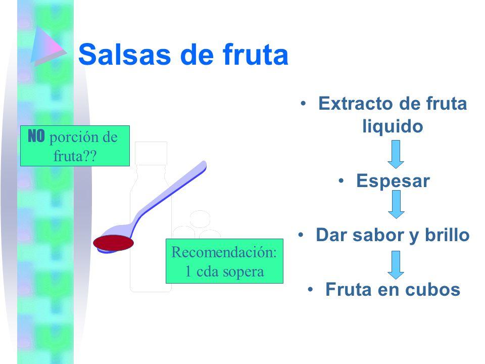 Extracto de fruta liquido