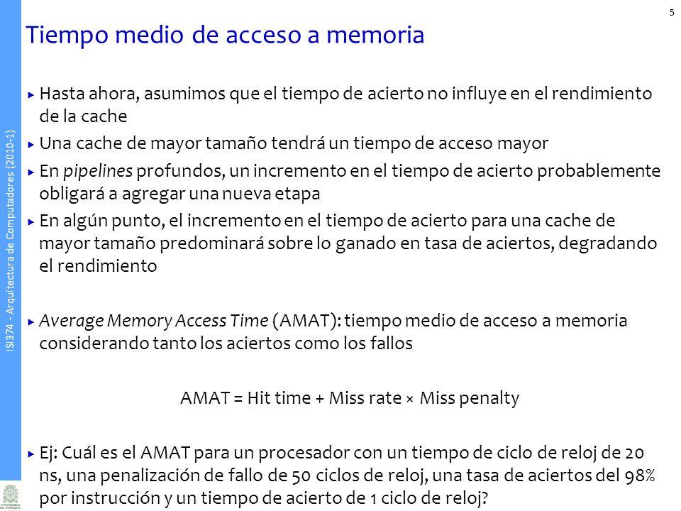 Tiempo medio de acceso a memoria