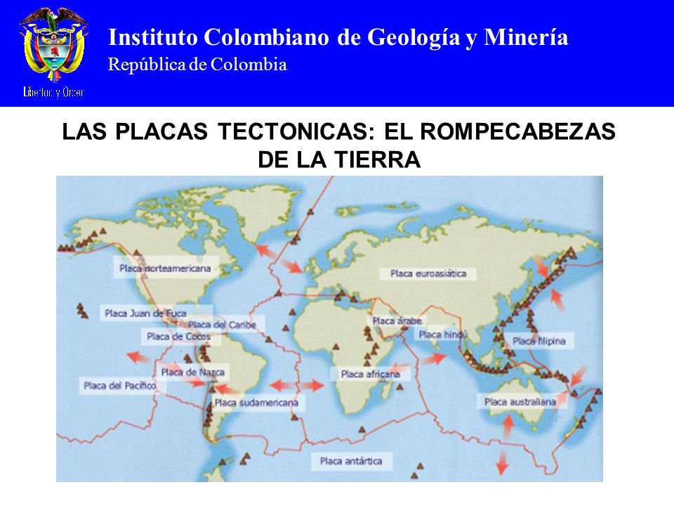 LAS PLACAS TECTONICAS: EL ROMPECABEZAS DE LA TIERRA