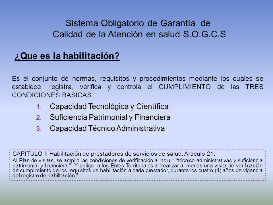 Sistema Obligatorio de Garantía de