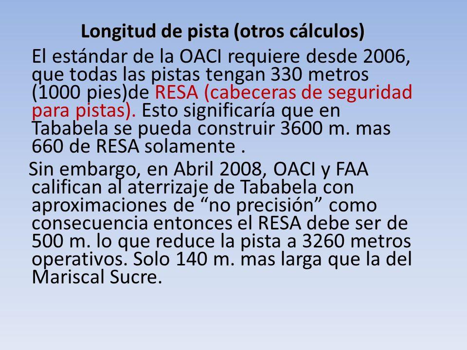 Longitud de pista (otros cálculos)