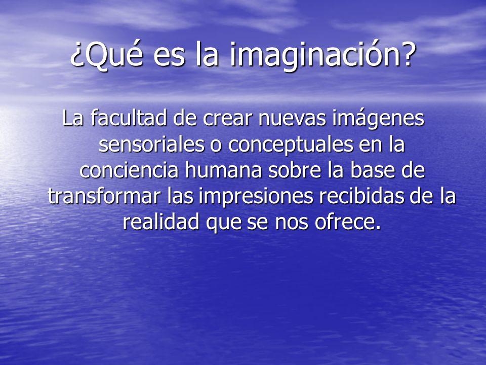 ¿Qué es la imaginación