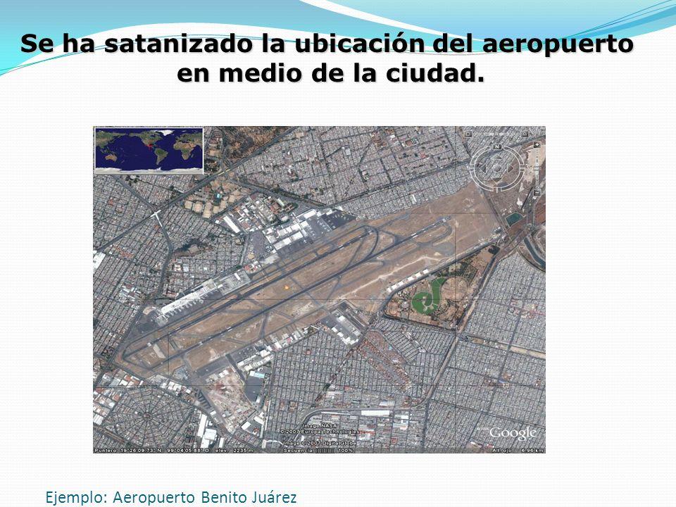 Ejemplo: Aeropuerto Benito Juárez