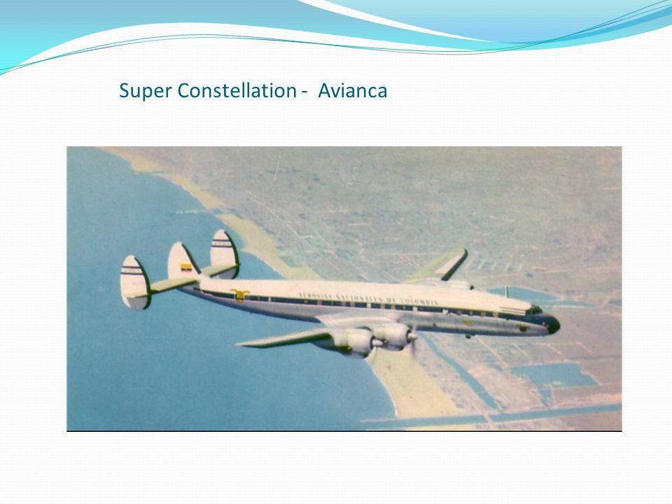 Super Constellation - Avianca