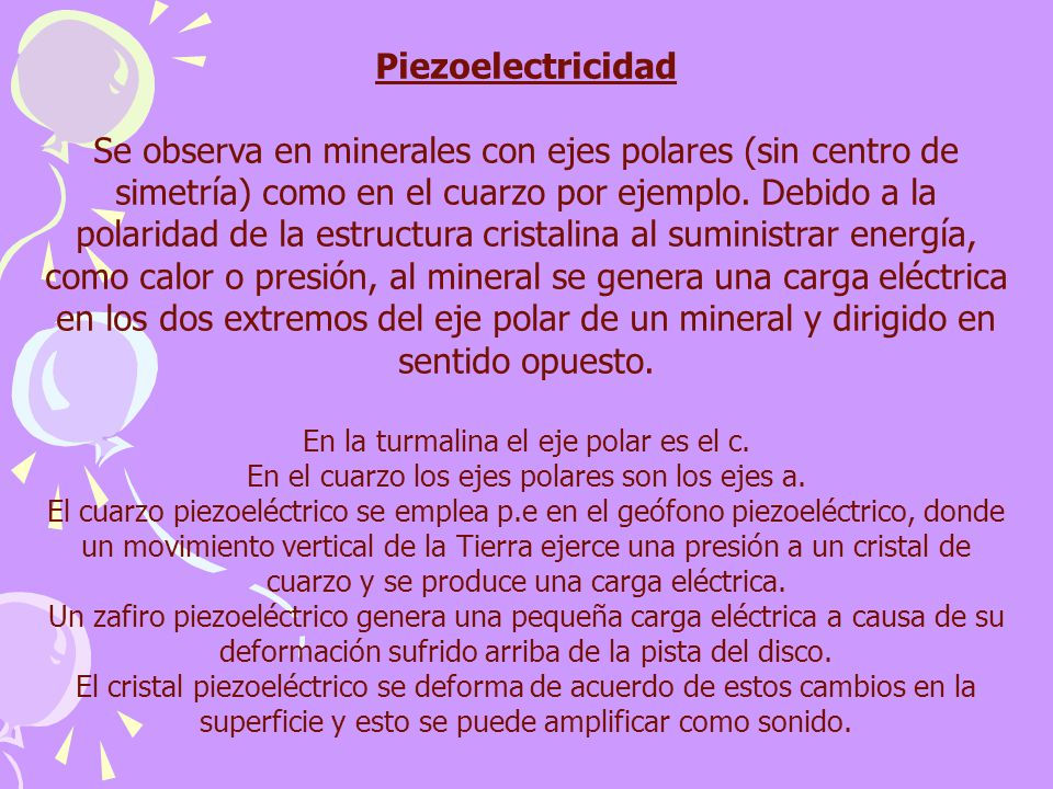 Piezoelectricidad