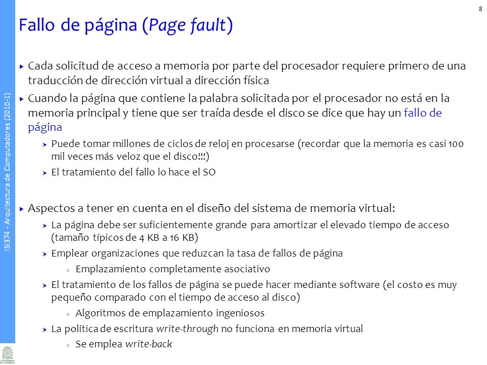 Fallo de página (Page fault)