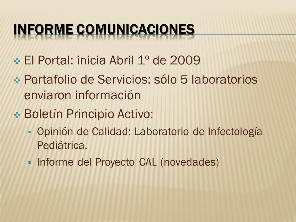 Informe comunicaciones