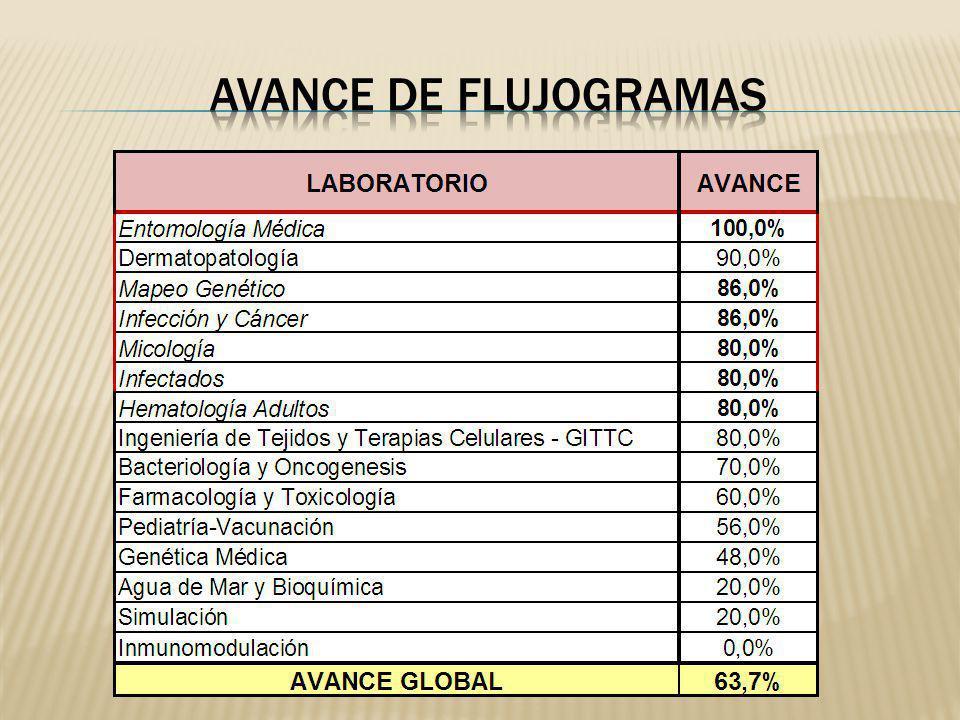 AVANCE DE FLUJOGRAMAS