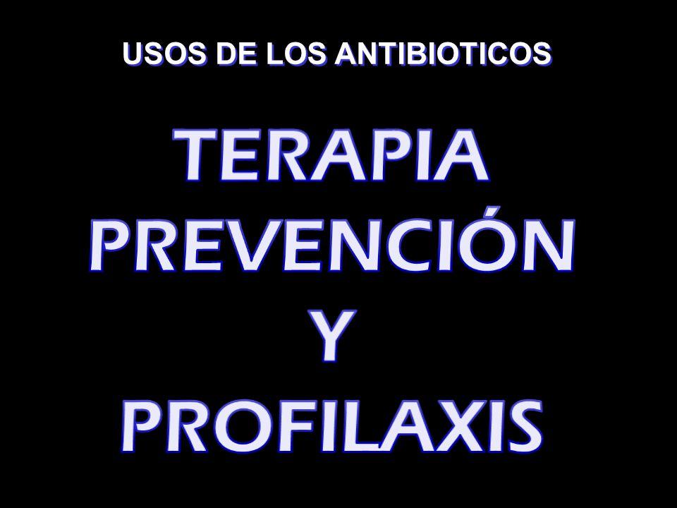 TERAPIA PREVENCIÓN Y PROFILAXIS