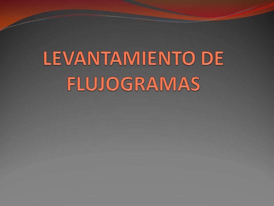 LEVANTAMIENTO DE FLUJOGRAMAS