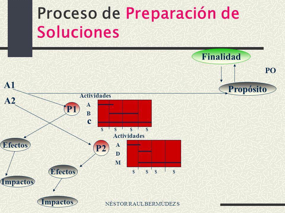 Proceso de Preparación de Soluciones