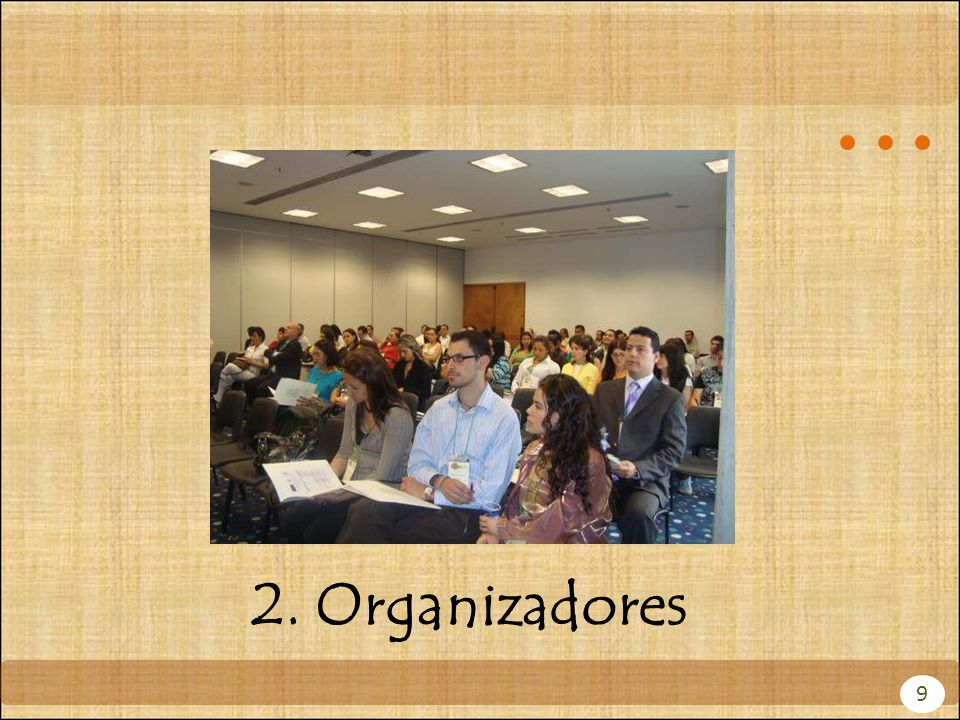 2. Organizadores 9