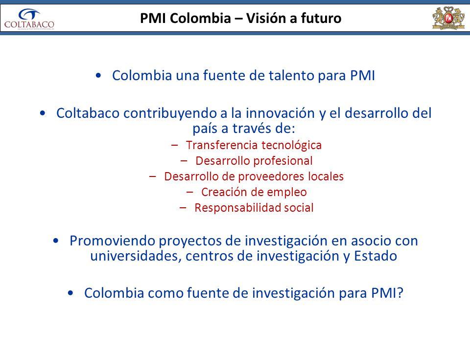 PMI Colombia – Visión a futuro