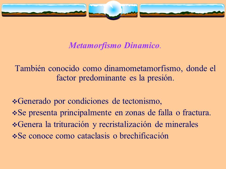 Metamorfismo Dinamico.