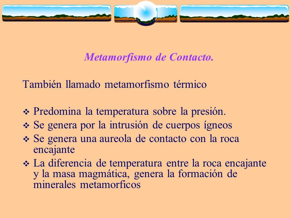 Metamorfismo de Contacto.
