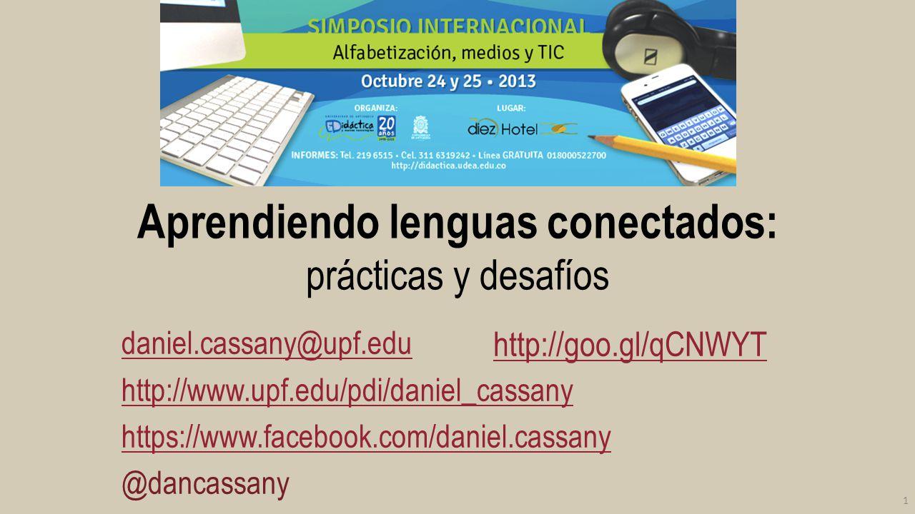 Aprendiendo lenguas conectados: prácticas y desafíos
