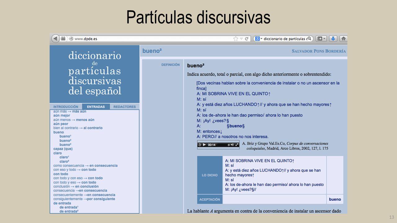 Partículas discursivas