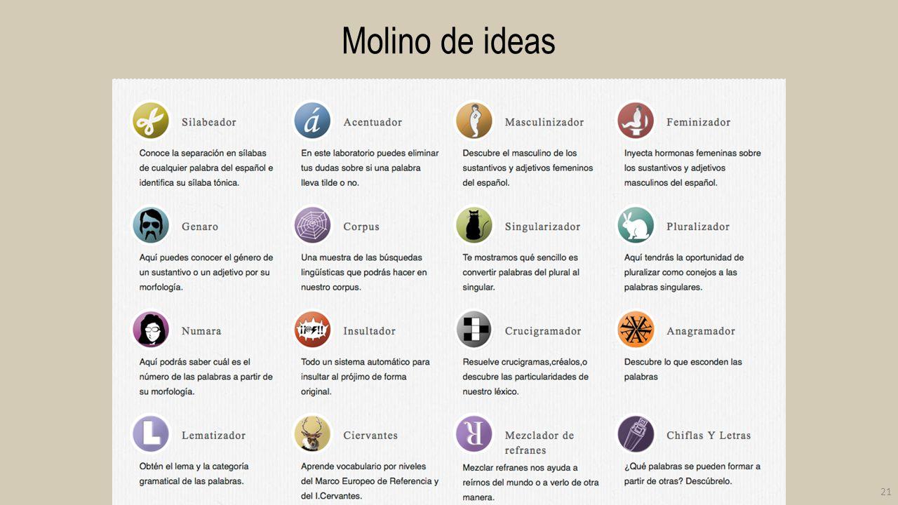 Molino de ideas