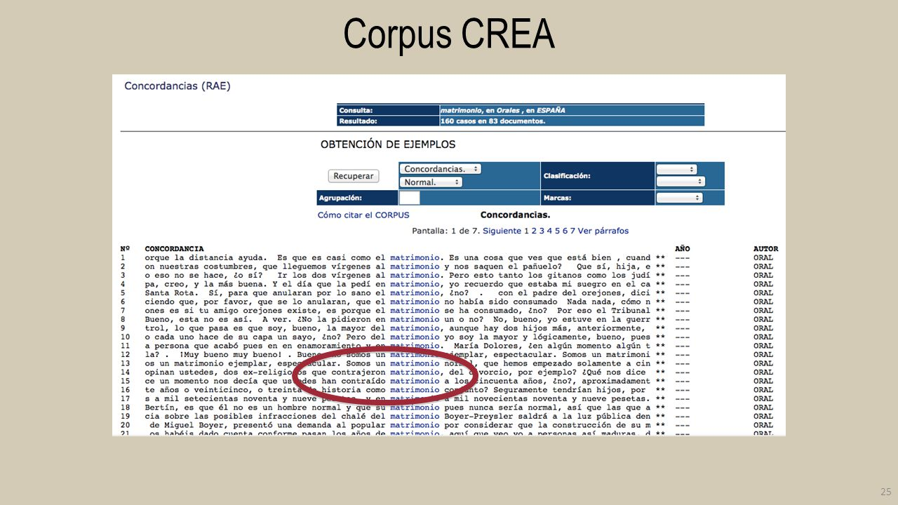 Corpus CREA