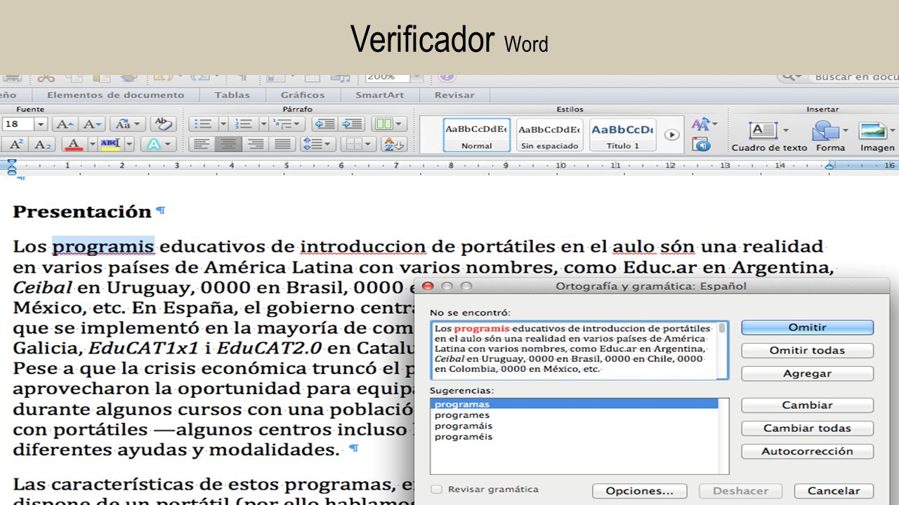 Verificador Word