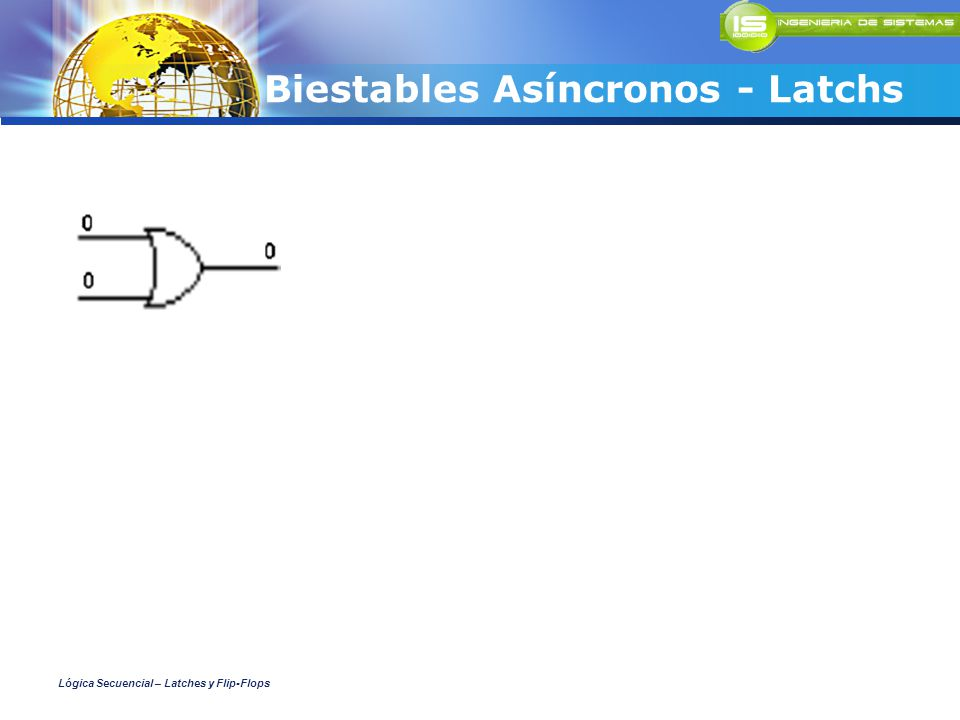 Biestables Asíncronos - Latchs