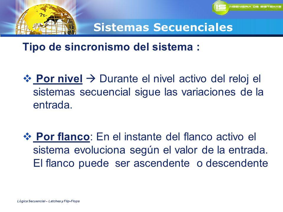 Sistemas Secuenciales