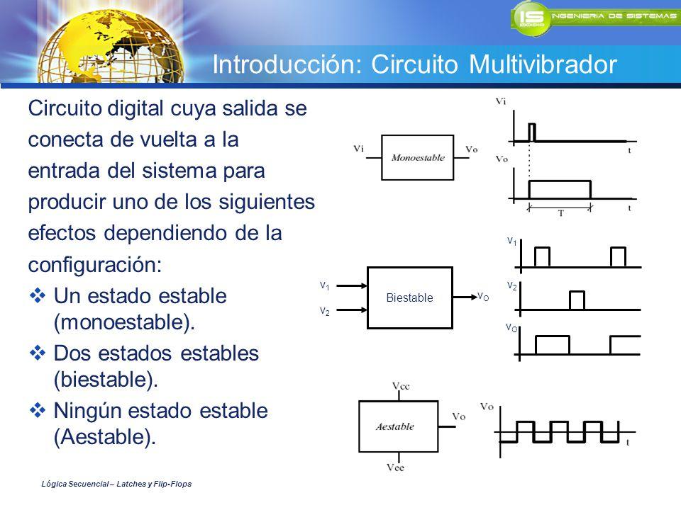 Introducción: Circuito Multivibrador