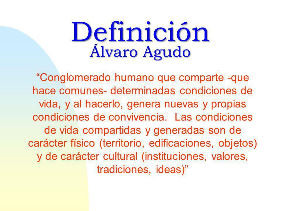 Definición Álvaro Agudo