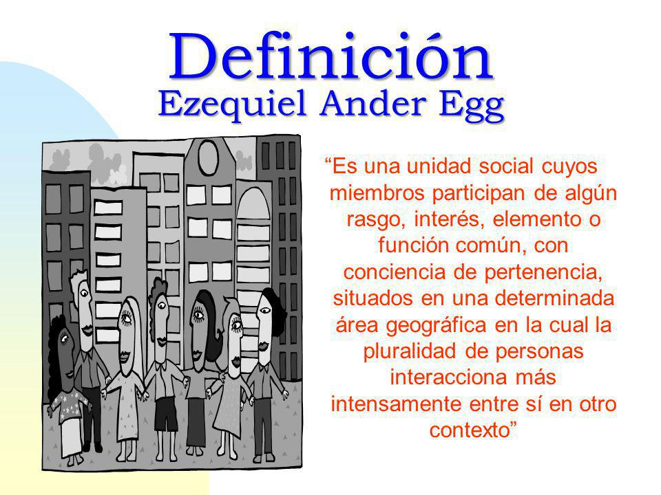 Definición Ezequiel Ander Egg
