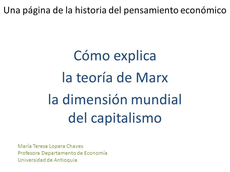Una página de la historia del pensamiento económico