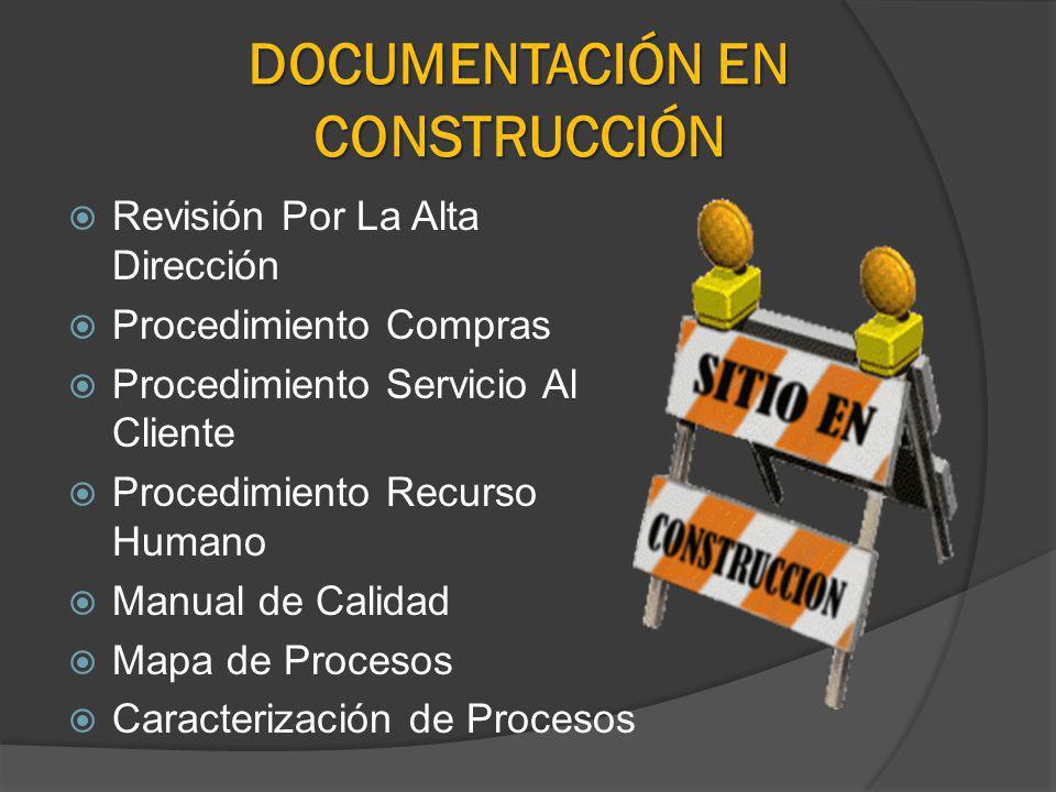 DOCUMENTACIÓN EN CONSTRUCCIÓN