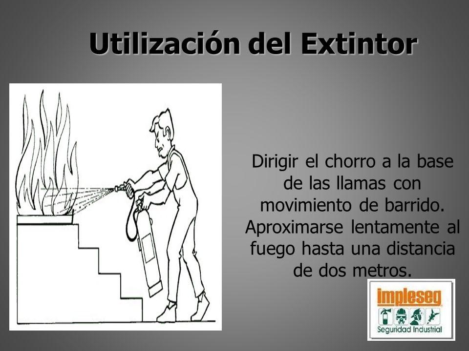 Utilización del Extintor