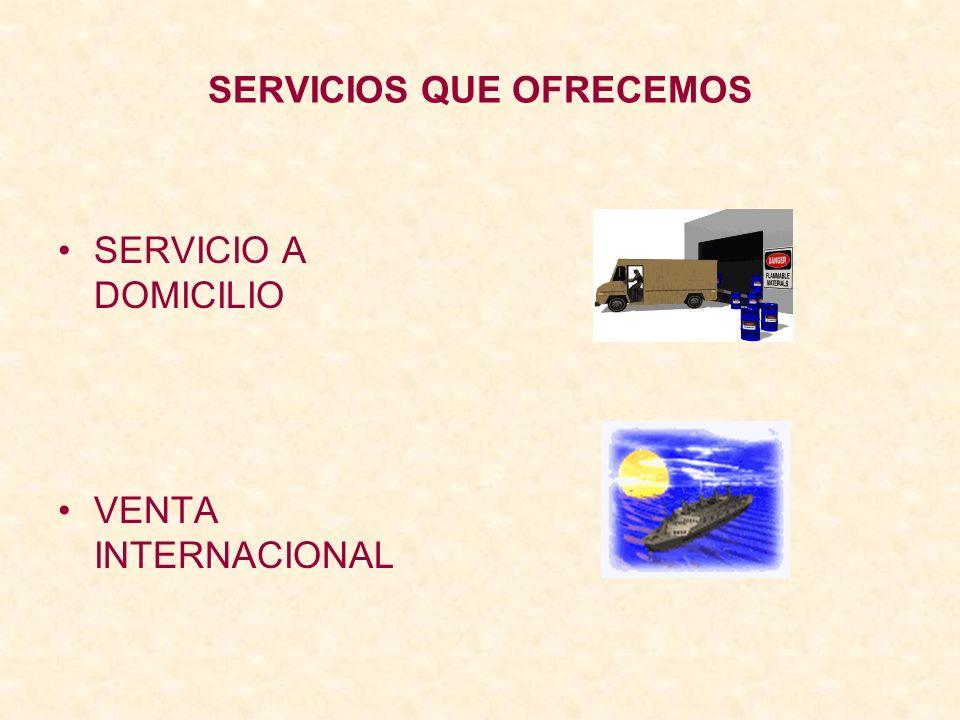 SERVICIOS QUE OFRECEMOS