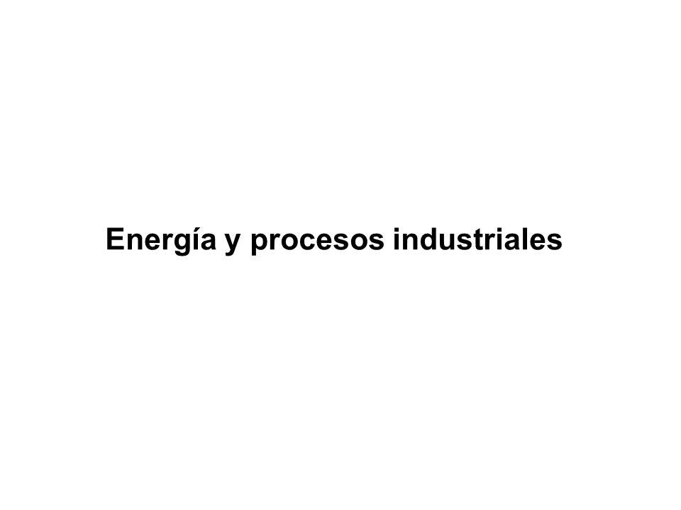 Energía y procesos industriales
