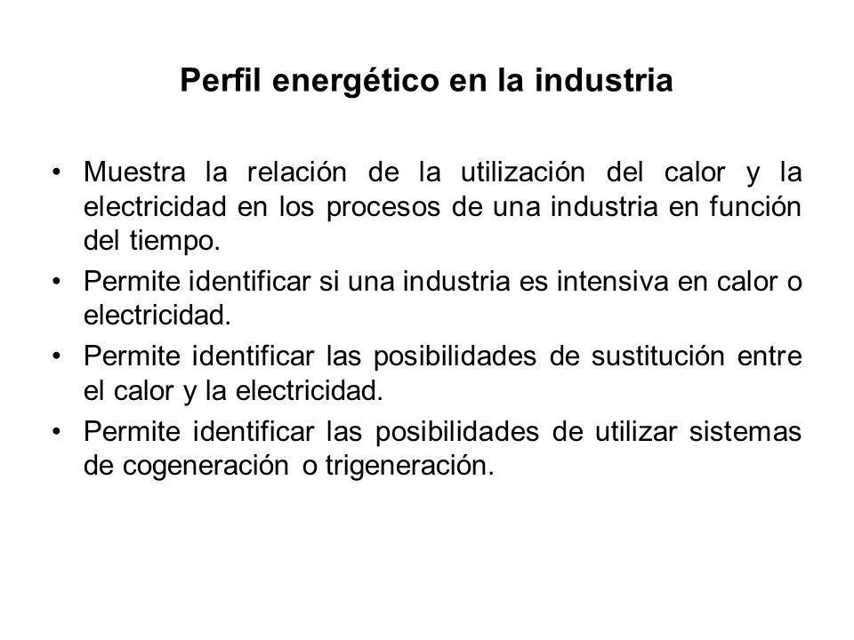 Perfil energético en la industria