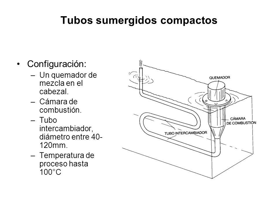 Tubos sumergidos compactos