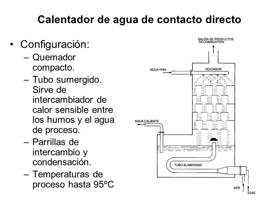 Calentador de agua de contacto directo