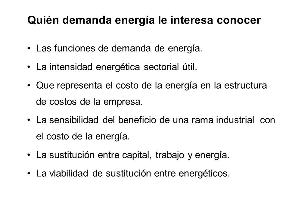 Quién demanda energía le interesa conocer