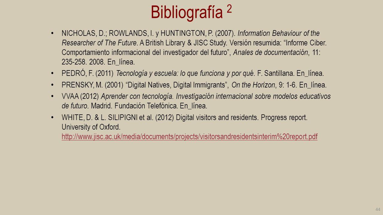 Bibliografía 2