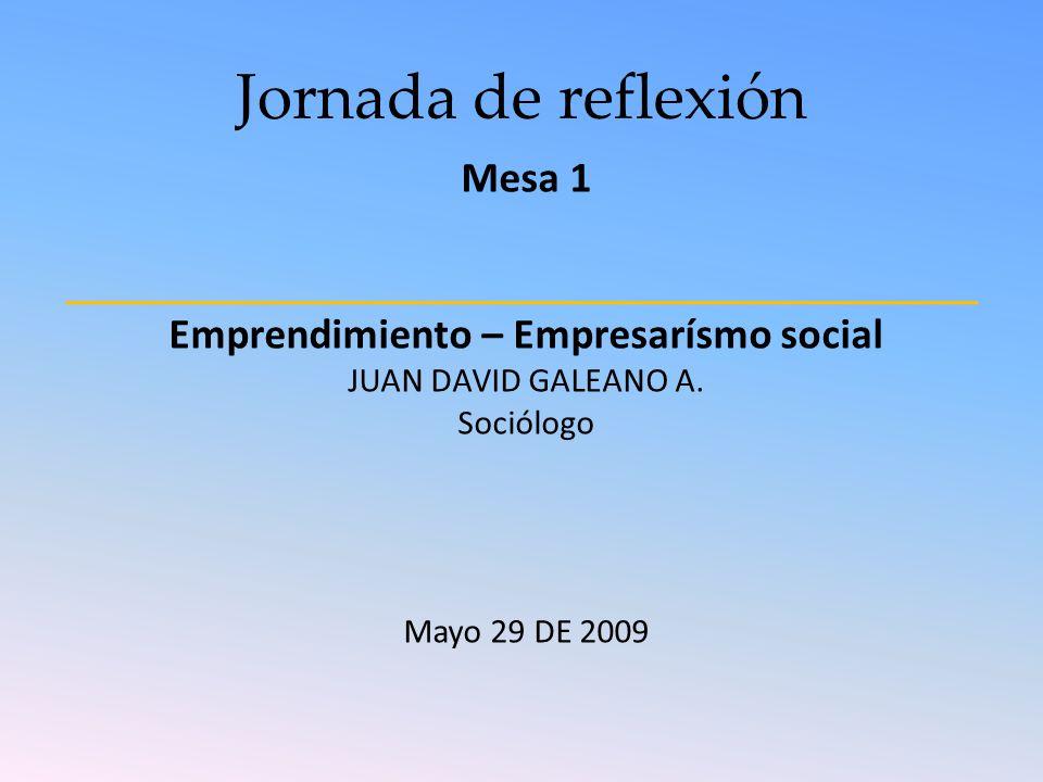 Emprendimiento – Empresarísmo social
