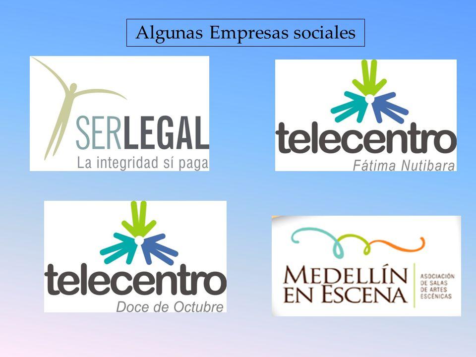 Algunas Empresas sociales