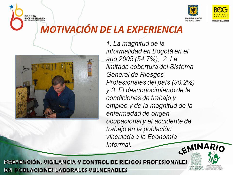 MOTIVACIÓN DE LA EXPERIENCIA