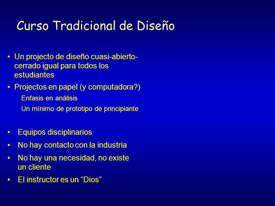 Curso Tradicional de Diseño