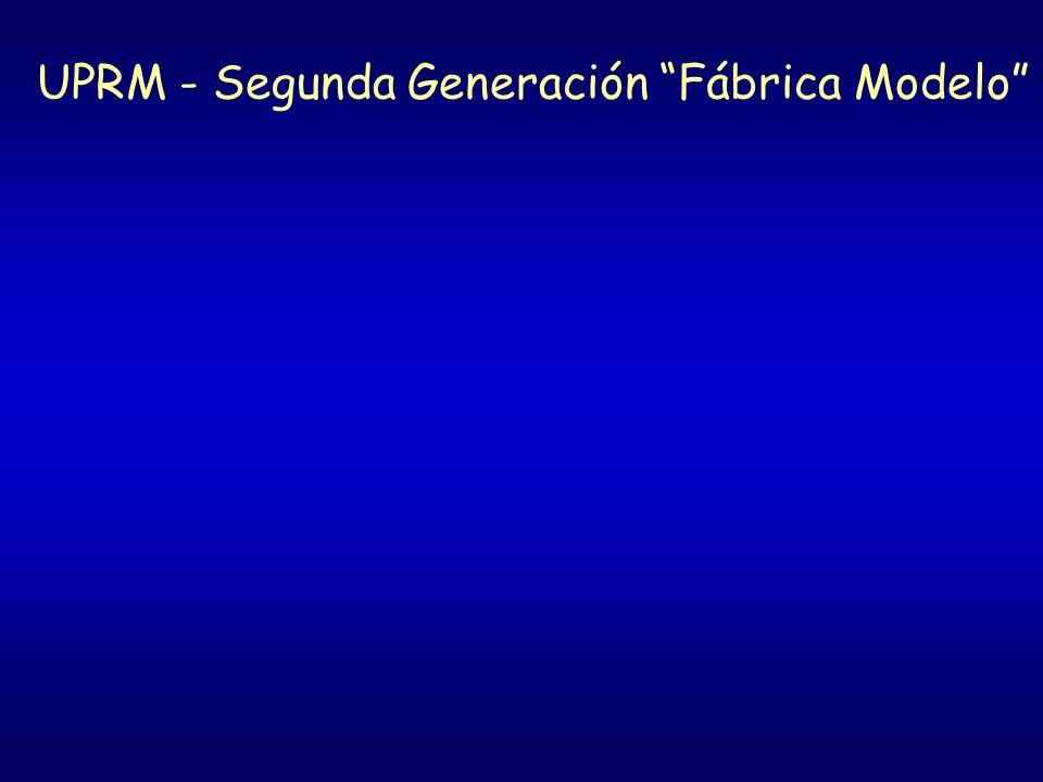 UPRM - Segunda Generación Fábrica Modelo